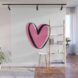 Heart design Wall Mural