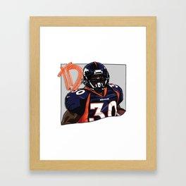TD Framed Art Print