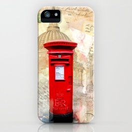 Classic Red London Postbox iPhone Case