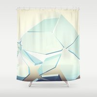 breaking bad Shower Curtains featuring Breaking Bad by Neon Wildlife