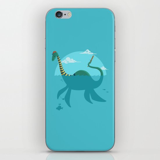 "Loch""Ness"" Monster iPhone & iPod Skin"