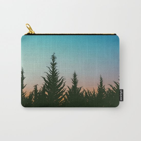 Tree tops #society6 Carry-All Pouch