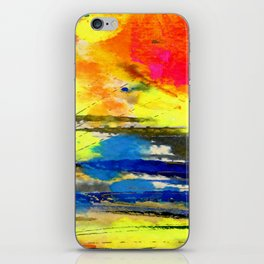 Art Abstraction 1A by Kathy Morton Stanion iPhone Skin