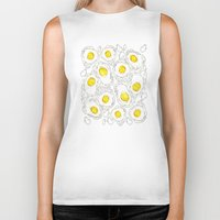 eggs Biker Tanks featuring eggs by AnnaToman