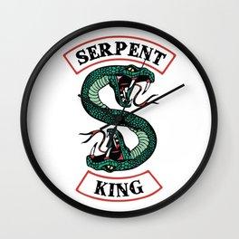 Serpent King Wall Clock