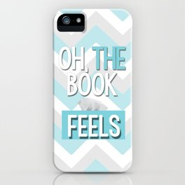 Oh, the book feels! iPhone Case