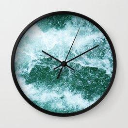 Restless Ocean Wall Clock