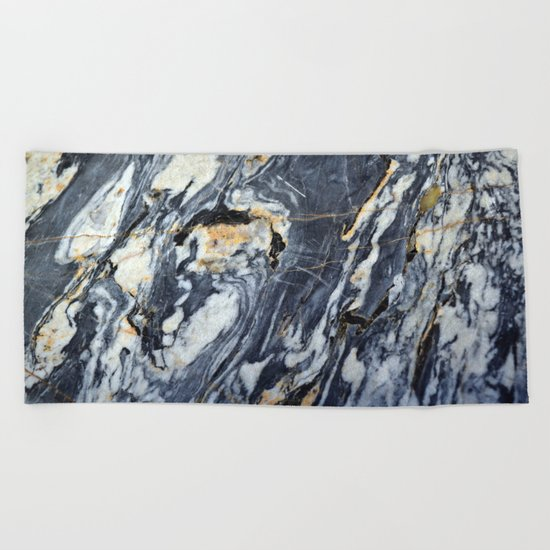 Marble Rock Beach Towel