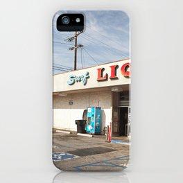 Liquor Store Santa Monica iPhone Case