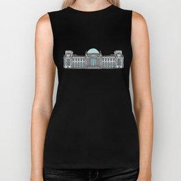 Reichstag building in Berlin Biker Tank