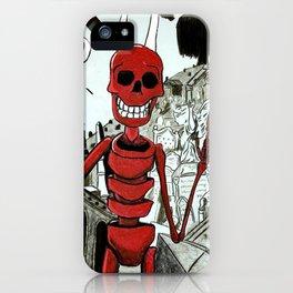Raul, el rey de los muertos iPhone Case