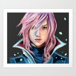 Lightning Farron Art Print