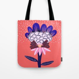 Fabuluscious Flower Tote Bag