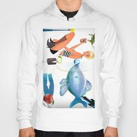 surrealism Hoodies featuring Surrealism by amanvel