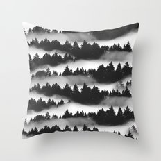 Don't Get Lost in Mist Throw Pillow