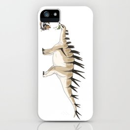 Carnivorous But Hardly A Threat iPhone Case