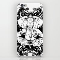 ganesh iPhone & iPod Skins featuring GANESH by Vee Ladwa