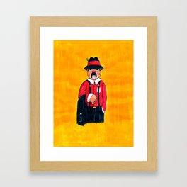 Pachucos Gaviotas Framed Art Print
