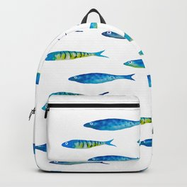 tropical minnows Backpack