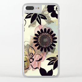 Muster/Blume/Tiere/brittmarks Clear iPhone Case