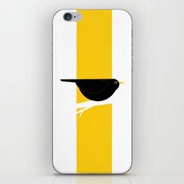 Turdus Merula 02 iPhone Skin