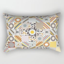 urban jungle squares Rectangular Pillow