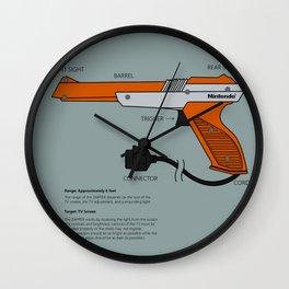 Nes Zapper Wall Clock