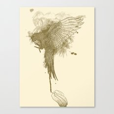 Make Fine Bird Canvas Print