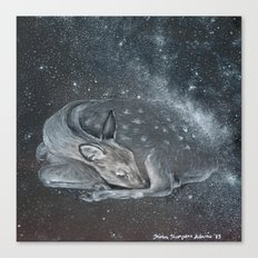 The Deer Spirit Canvas Print