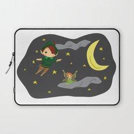Peter Pan on the Night Sky Laptop Sleeve