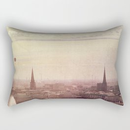 Hamburg sunrise Rectangular Pillow