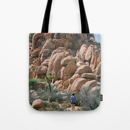 Towards the rocks Tote Bag