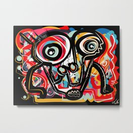 Art 238 Metal Print