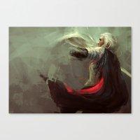 thranduil Canvas Prints featuring Thranduil by nlmda
