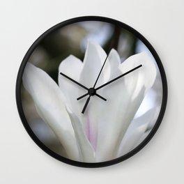 real magnolias Wall Clock
