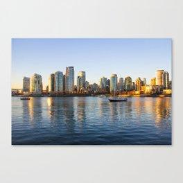 Golden City Canvas Print
