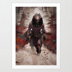 Yautja Predator Art Print