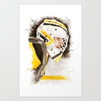 Rookie Champion Art Print