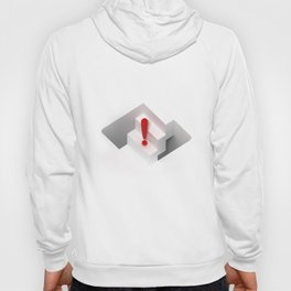 an optical illusion artwork of a stair steps that can go up or down Hoody