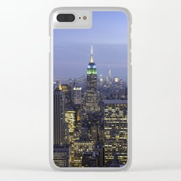 Empire State Building Clear iPhone Case