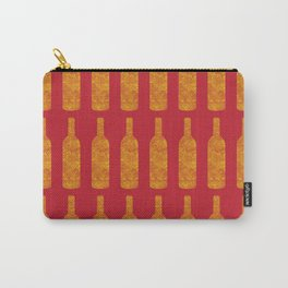 Wine Bottles Pattern Carry-All Pouch