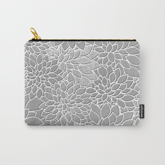 Floral Abstract 29 Carry-All Pouch