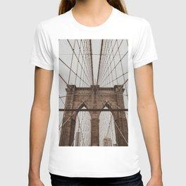 brooklyn bridge | Fine Art Travel Photography T-shirt