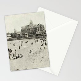 1889 Narragansett Towers, Casino, & Rockingham Hotel, Narragansett, Rhode Island Stationery Cards