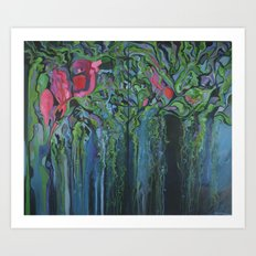 Chinampas Art Print