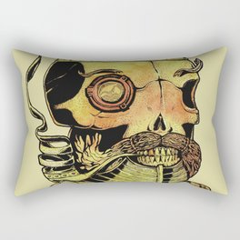 Caveira Rei dos Mares Rectangular Pillow