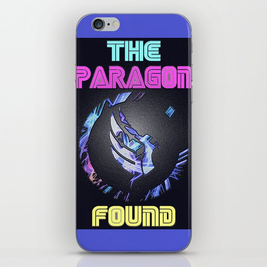 Paragon Mass Effect iPhone & iPod Skin
