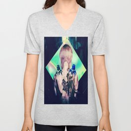 ghost in the shell tribute: 25th anniversary  Unisex V-Neck