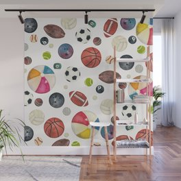 Sports fever Wall Mural