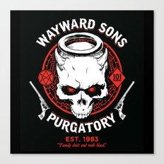 Wayward Sons Canvas Print